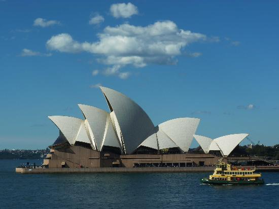 Park Hyatt Sydney : L'Opera House dalla camera