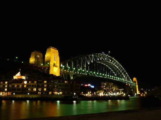 Park Hyatt Sydney: By night
