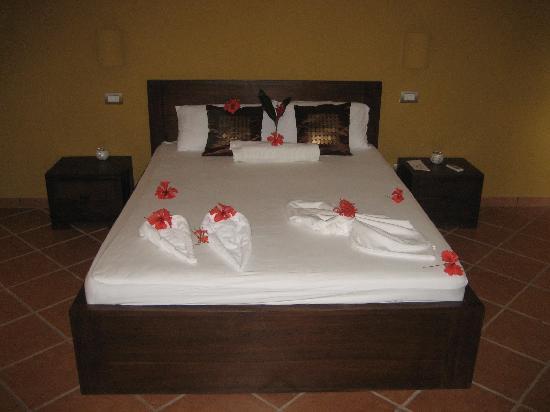 Manala Hotel: bed