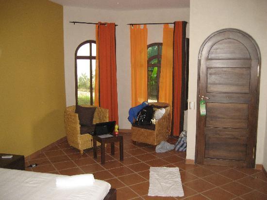 Manala Hotel: sitting area