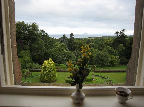 Glenapp Castle: Great views of Ailsa Craig