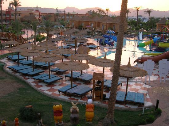 Aqua Blu Sharm : vue sur l'hotel