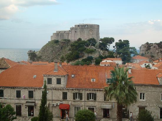 Hilton Imperial Dubrovnik: View from our bedroom