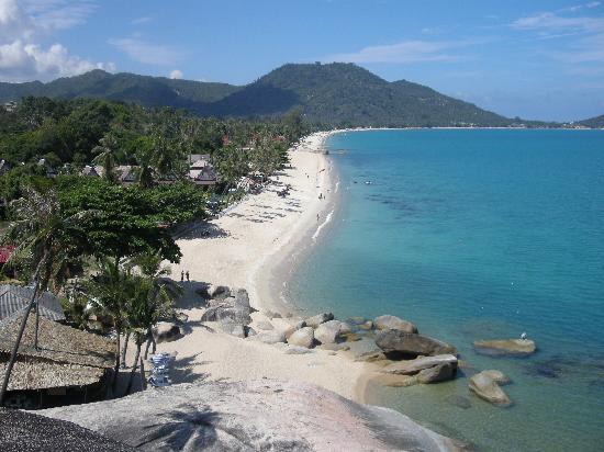 Ko Samui, Thailand: lamai beach