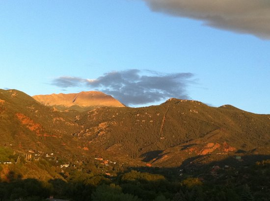 Red Crags Estates: view from our deck