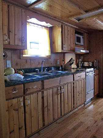 Jo's Motel and Campground: A fully equipped kitchen!