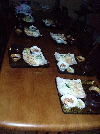 Homey inn Enya: great dinner