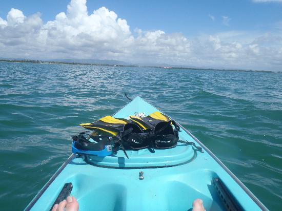Barnacle Bill's Beach Bungalows : Using the free kayak