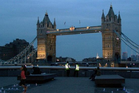 Tower Bridge at Night from the Gaucho