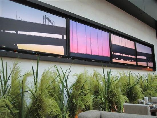 The Nines, a Luxury Collection Hotel, Portland: video screen