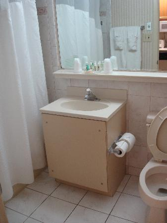 Holiday Inn Ocean City: Outdated bathroom