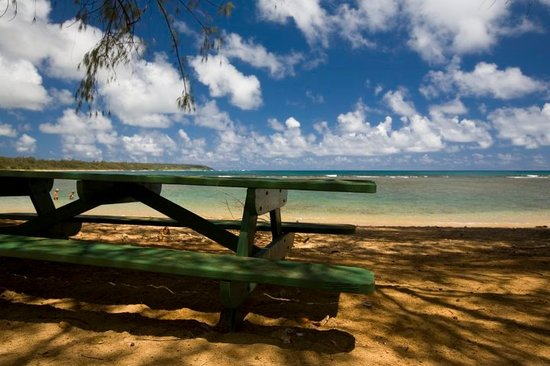 Kapaa, Havai: one of the beaches we found on the photo tour