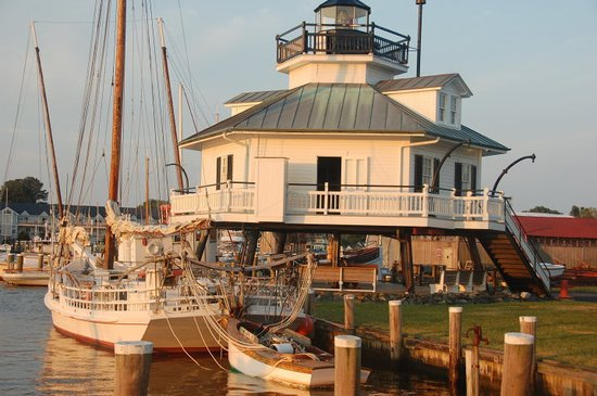 Chesapeake Bay Maritime Museum: 1879 Hooper Strait Lighthouse