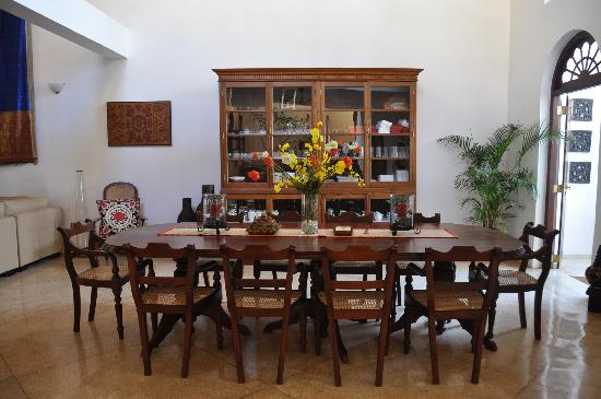 Galle Heritage Villa by Jetwing: Formal dining