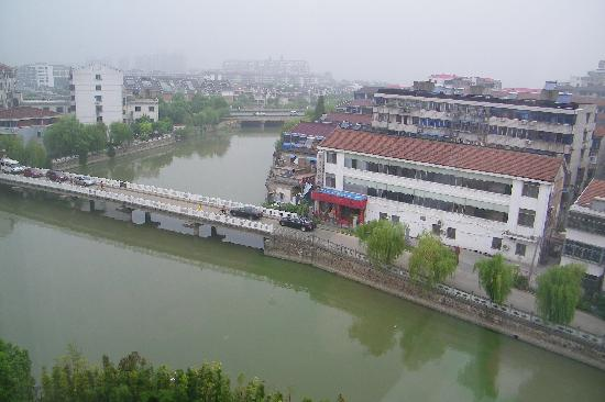 Yixing, China: View from room on th e 5th floor