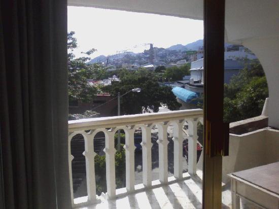 Acapulco Diana: Vista de la habitacion al exterior