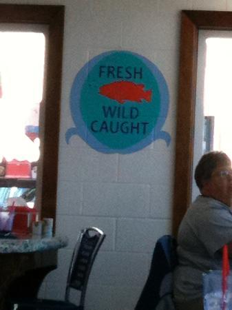 Ocean Bleu at Gino's Fish Market and Cafe: More Healthy