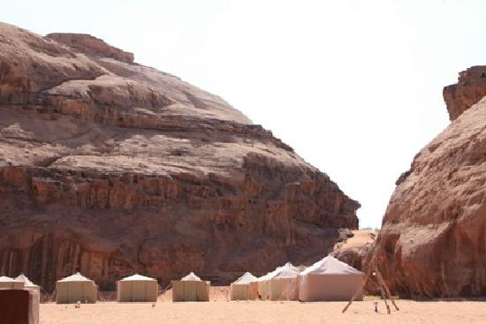 The Caravans Camp: the camp area