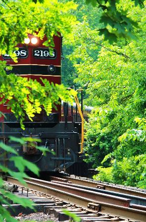 New Hope, PA: Train