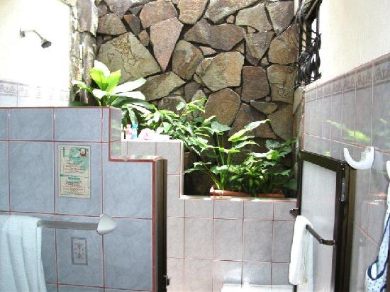 Arenal Springs Resort and Spa: shower
