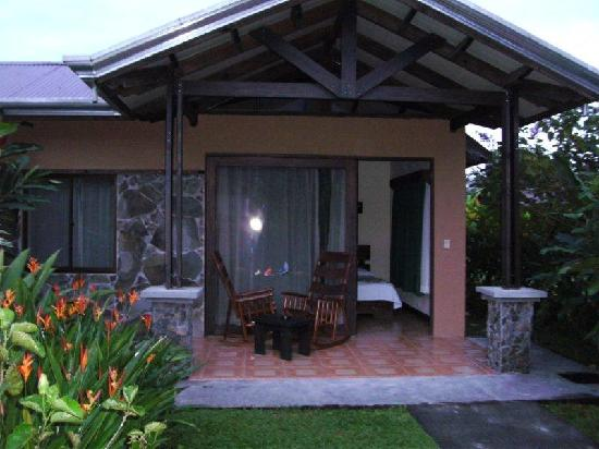 Arenal Springs Resort and Spa: outside of my room