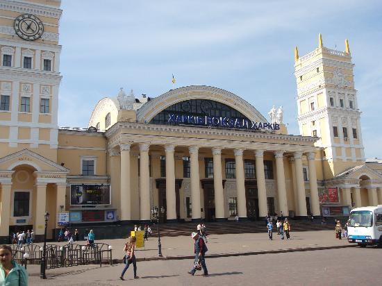 Kharkiv, Ukraine : Southern Rail Station