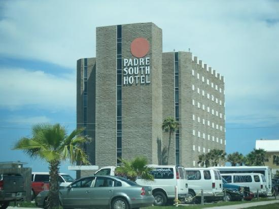 Padre South Hotel Front Of