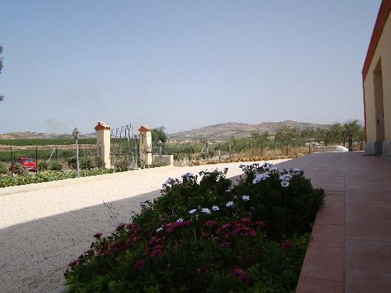 Agriturismo Valle Benuara: ingresso