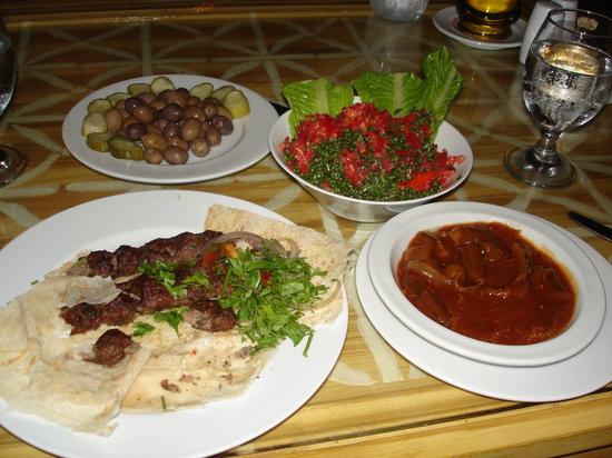 Taboula Lebanese Restaurant: I enjoy the kofta!