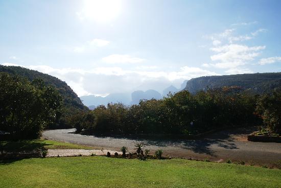 Forever Resort Blyde Canyon: Three Rondravels (vue du restaurant)