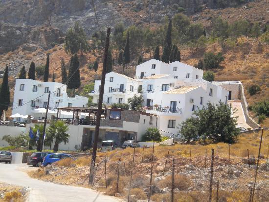 Creta Blue Suites: vista d'insieme all'arrivo