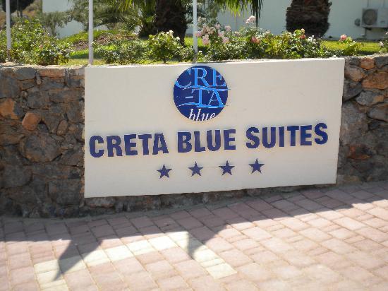 ingresso Creta Blue Suites