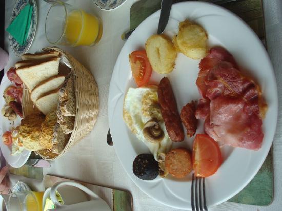 Lakeshore House B&B: Full Irish Breakfast