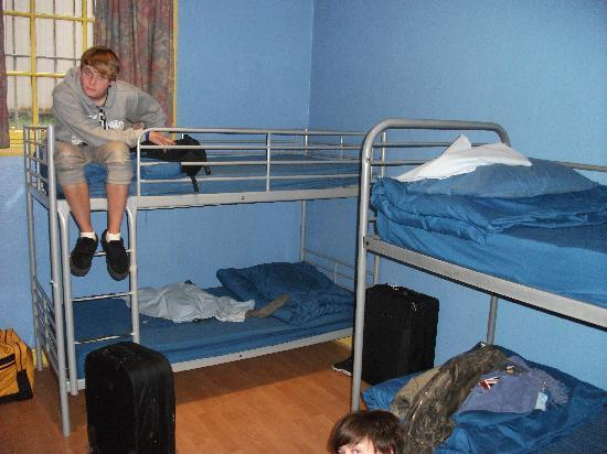 Cowgate Tourist Hostel: Bunkbeds (Apartment 1, room 2)