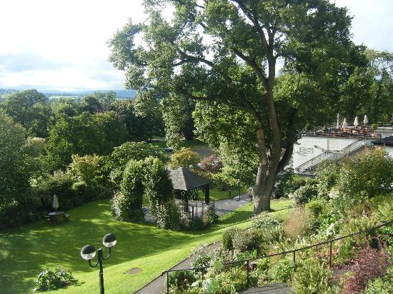 Kendal, UK: View from the balcony