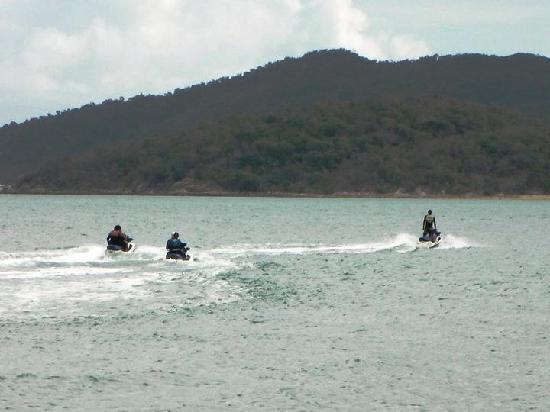 Ecojet Ski Safari Tours: enjoying the Jet Ski's