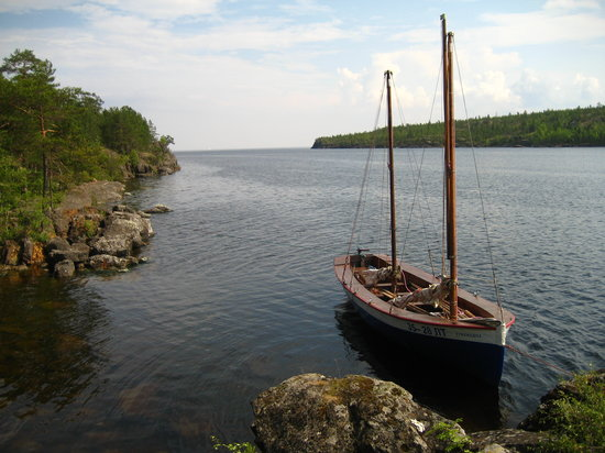 ‪‪Republic of Karelia‬, روسيا: One of the boats.‬