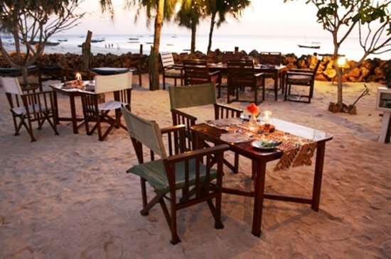 Flame Tree Cottages Restaurant : a pleasant and memorable dining experience