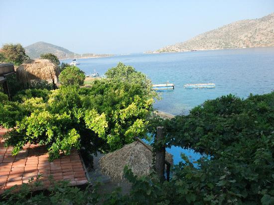 Bozburun, Türkei: View from palm Balcony