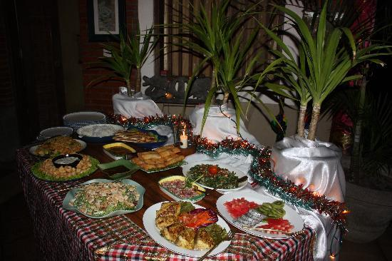 Kusuma Sari Villa & Spa: THE buffet !