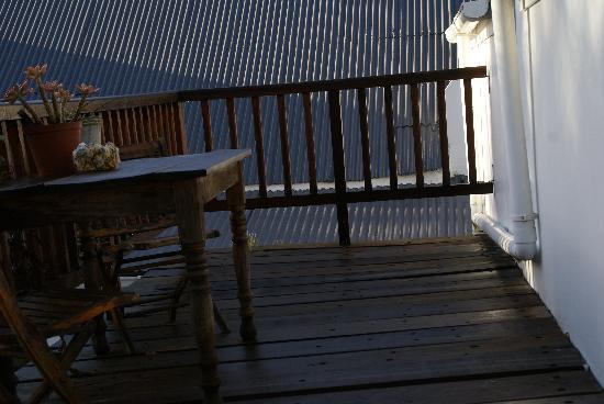 Cypress Cottage: Notre terrasse