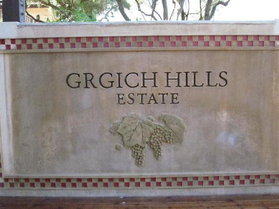 Grgich Hills Estate : A Name you don't need to remember
