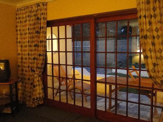Milkwood Lodge: La  terrasse de la chambre