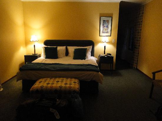 Milkwood Lodge: La chambre