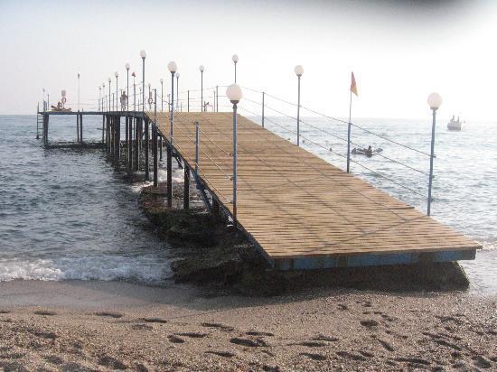 Club Kastalia: la plage