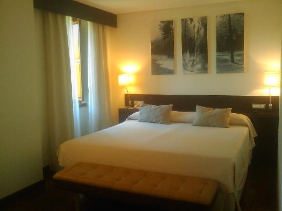 Guitiriz, España: habitación (cama king size)