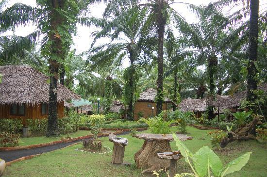 Blue Village Resort: L'entrée coté voiture