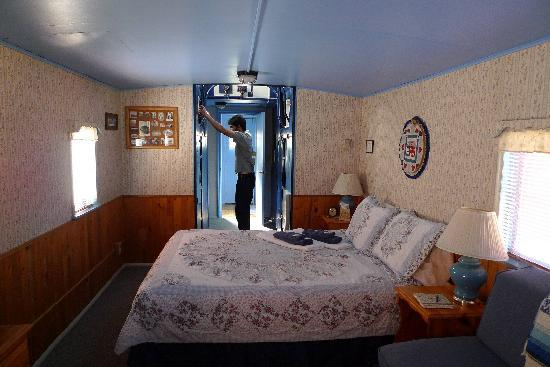 Iron Horse Inn Bed and Breakfast: Beautiful Caboose