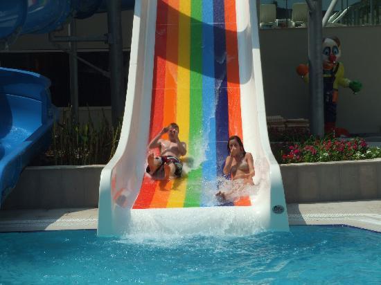 Crystal Sunrise Queen Luxury Resort & SPA: Water slide
