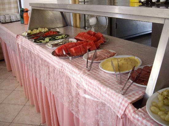 Hermes Hotel: Frühstücksbuffet